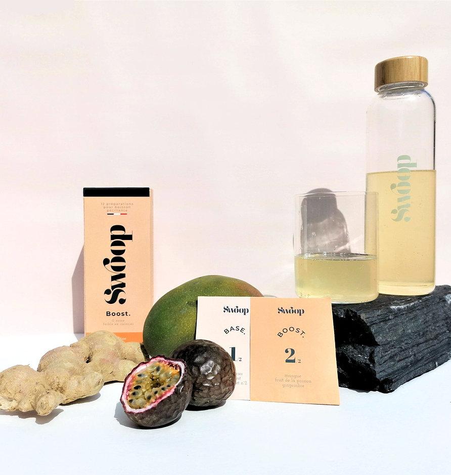 swoop02 - Swoop transforme l'eau du robinet en une boisson pétillante écologique et saine
