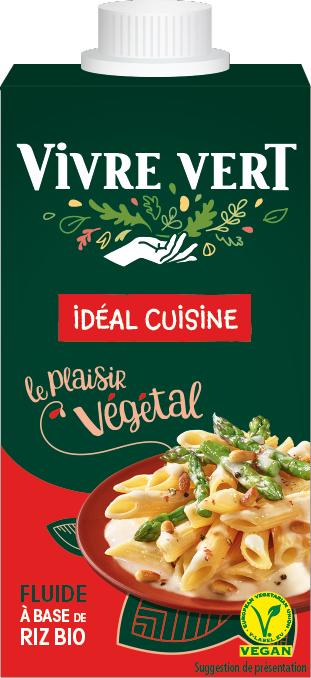 vv creme riz - Vivre Vert, le végétal gourmand et engagé au rayon frais