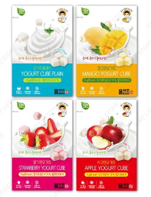 447438 1 800 - Des yaourts en cube pour le goûter des enfants