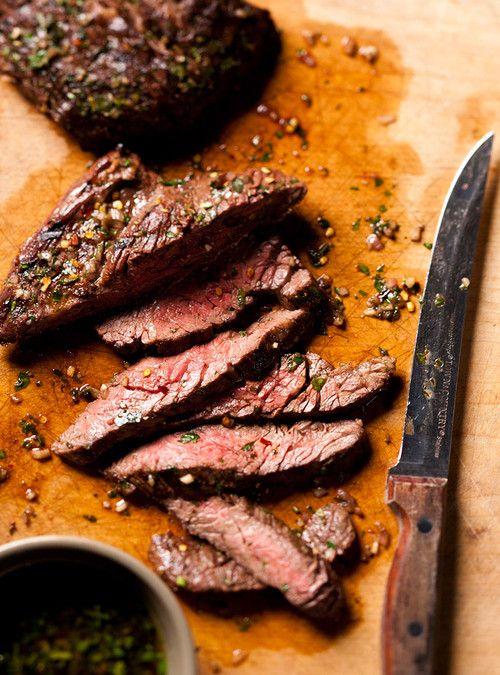 Bavettes de boeuf chimichurri   Ricardo - Manger moins de viande pourrait sauver la planète