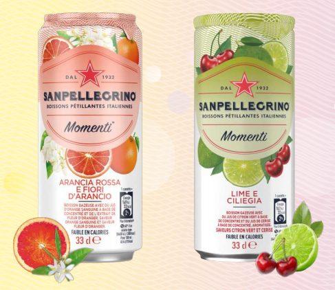 Capture decran 2021 09 01 141022 - Nouveau design et nouvelles saveurs pour S. PELLEGRINO