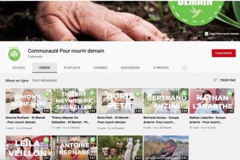 Capture decran 2021 09 24 a 14.00.17 480x320 - La Communauté Pour nourrir demain lance sa chaîne Youtube