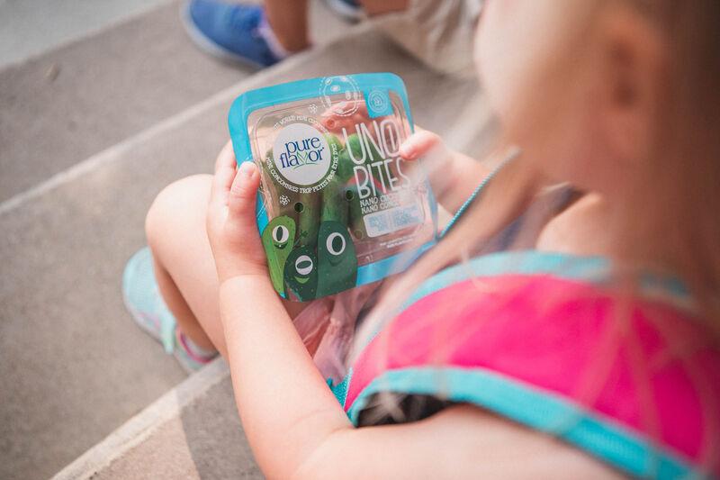 Uno Bites 2 - Une gamme de concombres ultra-petits pour les enfants