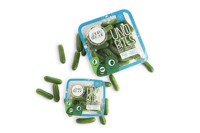 Uno Bites - Une gamme de concombres ultra-petits pour les enfants