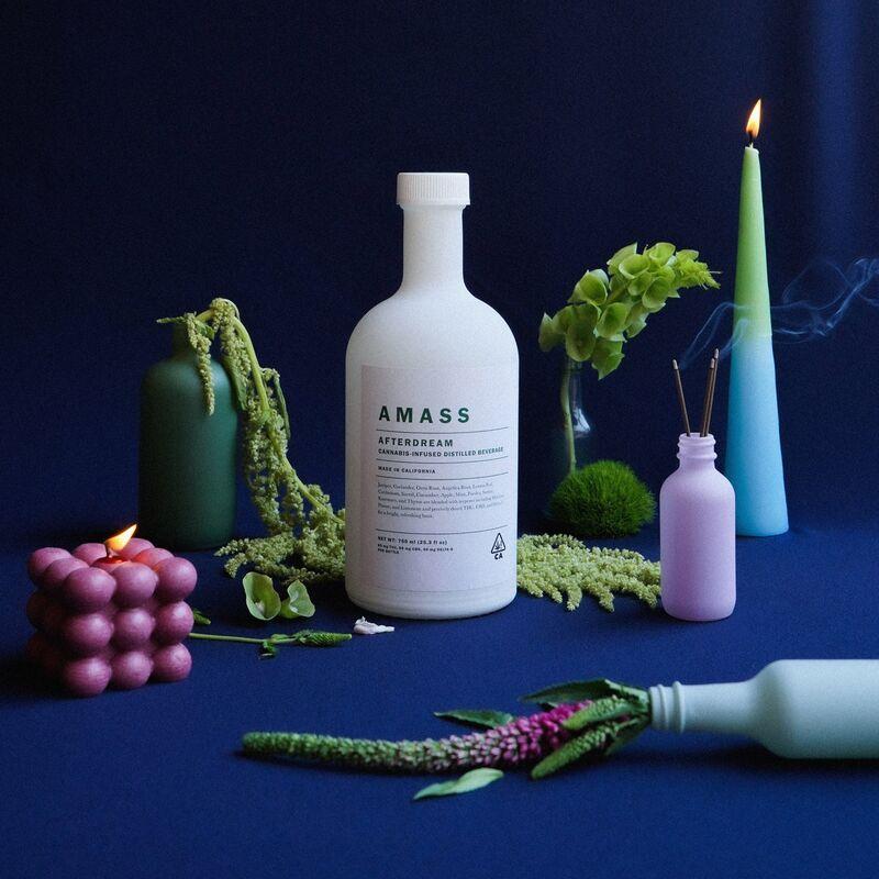 afterdream - AMASS lance une boisson non-alcoolisée à base de cannabis