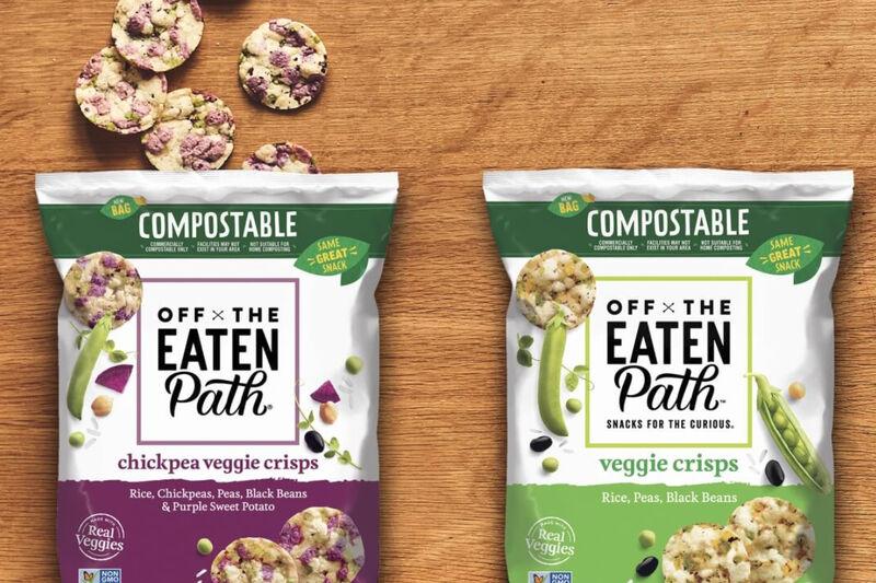crisps bags - Des chips aux emballages biodégradables