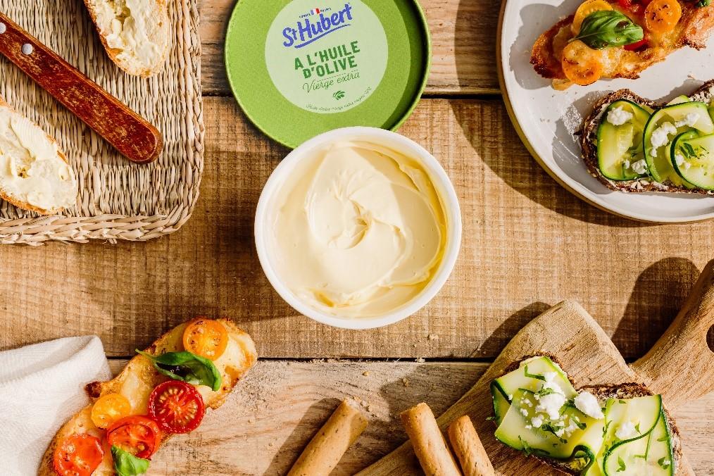 huile olive - St Hubert lance ses deux produits 100 % végétaux