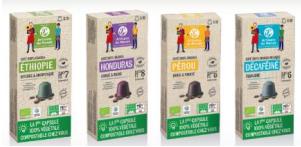 jjj - Solidar'Monde lance la 1ère capsule de café végétale 100% compostable chez soi