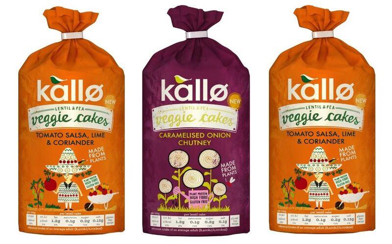 kall veggie cakes - Kallø lance ses gâteaux végétariens riches en fibres