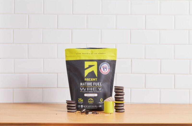 native fuel whey protein - De la poudre protéinée au goût délicieux de crème glacée