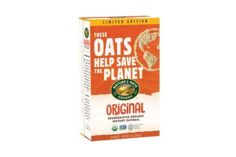 natures path regenerative organic certified instant oatmeal 480x320 - Nature's Path dévoile sa farine bio en faveur du climat