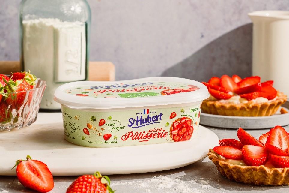 patisserie - St Hubert lance ses deux produits 100 % végétaux