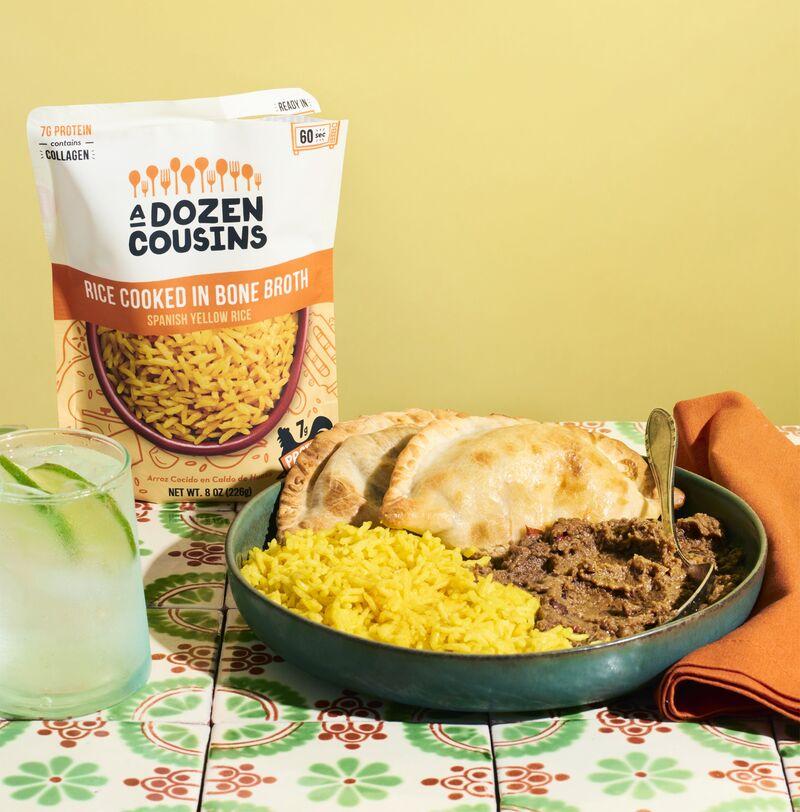 rice packet - A Dozen Cousins lance sa nouvelle gamme de riz