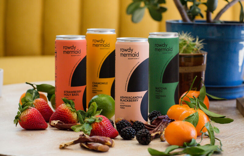 rowdy - La gamme Adaptonic de Rowdy Mermaid est renforcée avec de l'extrait de champignon Reishi
