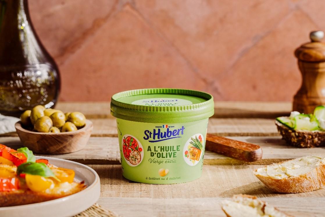 st hubert huile olive - St Hubert lance ses deux produits 100 % végétaux