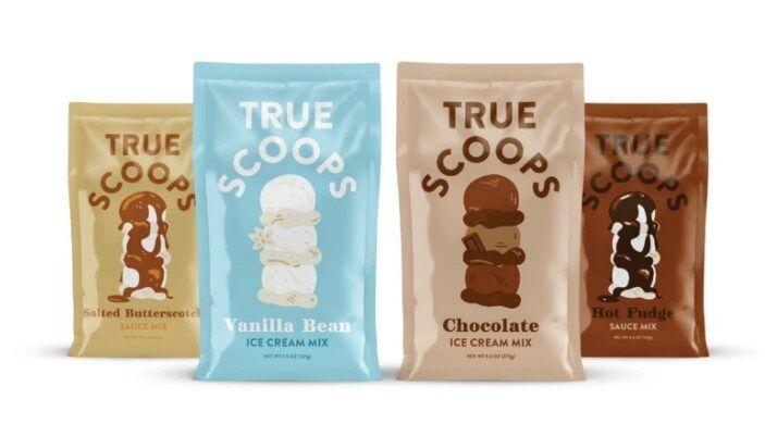 true scoops ice cream mix - Une préparation simple pour vos glaces maison !
