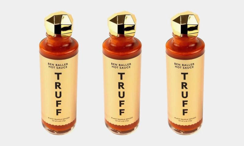 truff x ben baller hot sauce - TRUFF x Ben Baller :  la sauce piquante de luxe