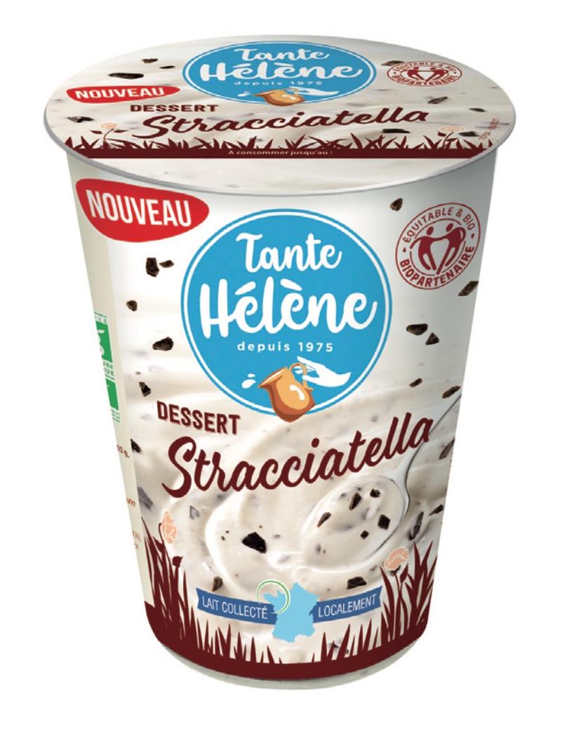 Capture decran 2021 10 14 a 12.54.34 - Avec son nouveau dessert Stracciatella, TANTE HÉLÈNE apporte de la gourmandise au rayon Ultra-Frais