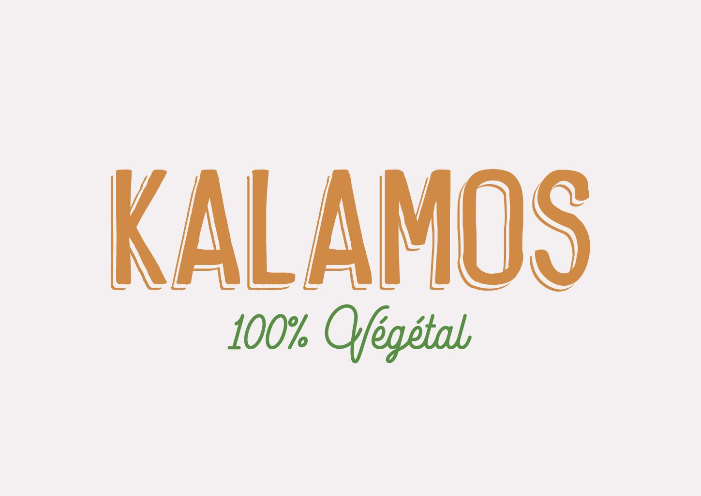 logo kalamos vegetal - Les cookies 100 % d'origine végétale made in Bretagne