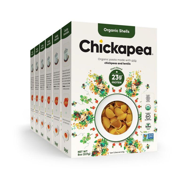 nutritious chickpea pasta - Chickapea lance ses pâtes à base de pois chiches et lentilles