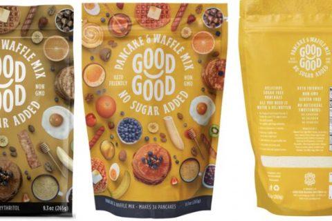 pancake waffle mix 480x320 - La marque islandaise Good Good propose des produits sans gluten