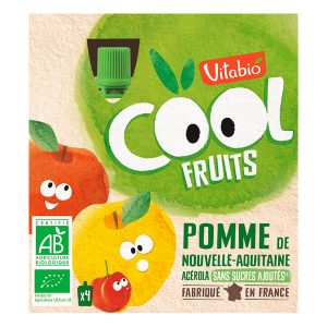vitabio cool fruits pomme gourdes de fruits 4x90g 300x300 - Vitabio Cool fête ses 20 ans